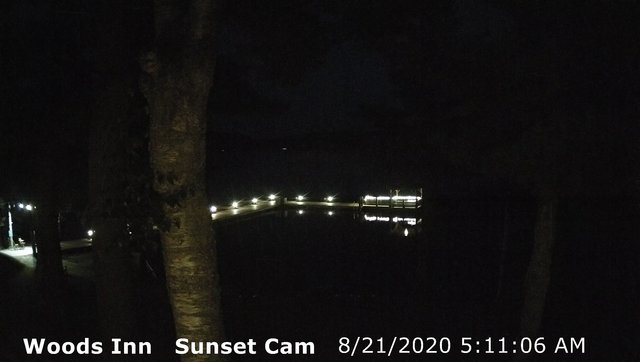 time-lapse frame, 4th Lake, Inlet, NY webcam