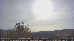 view from Horseshoe Bend, Idaho CAM2 on 2019-11-03