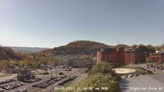 view from Highland Park Hose Co. #2 on 2019-10-28