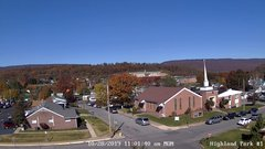 view from Highland Park Hose Co. #1 on 2019-10-28