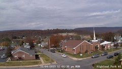 view from Highland Park Hose Co. #1 on 2019-11-04