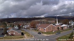 view from Highland Park Hose Co. #1 on 2019-11-12