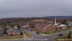 view from Highland Park Hose Co. #1 on 2019-11-14