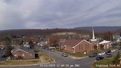 view from Highland Park Hose Co. #1 on 2019-11-21