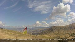view from Horseshoe Bend, Idaho CAM1 on 2019-09-09