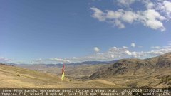 view from Horseshoe Bend, Idaho CAM1 on 2019-10-02