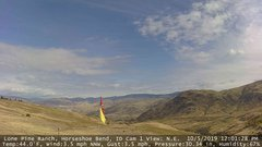 view from Horseshoe Bend, Idaho CAM1 on 2019-10-05