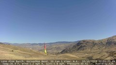 view from Horseshoe Bend, Idaho CAM1 on 2019-10-10