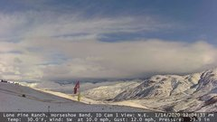 view from Horseshoe Bend, Idaho CAM1 on 2020-01-14