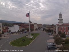 view from 13 East Market Street - Lewistown PA (west) on 2019-10-02