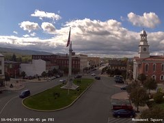 view from 13 East Market Street - Lewistown PA (west) on 2019-10-04