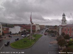 view from 13 East Market Street - Lewistown PA (west) on 2019-10-07