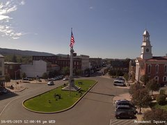 view from 13 East Market Street - Lewistown PA (west) on 2019-10-09