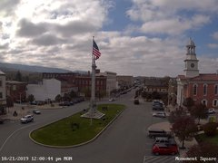 view from 13 East Market Street - Lewistown PA (west) on 2019-10-21