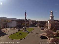 view from 13 East Market Street - Lewistown PA (west) on 2019-10-28