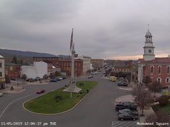 view from 13 East Market Street - Lewistown PA (west) on 2019-11-05