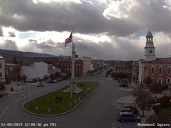 view from 13 East Market Street - Lewistown PA (west) on 2019-11-08