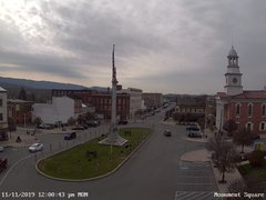 view from 13 East Market Street - Lewistown PA (west) on 2019-11-11