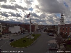 view from 13 East Market Street - Lewistown PA (west) on 2019-11-12
