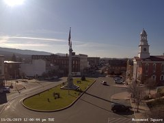 view from 13 East Market Street - Lewistown PA (west) on 2019-11-26