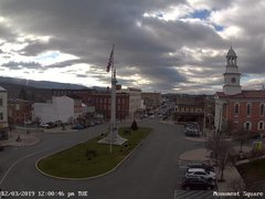view from 13 East Market Street - Lewistown PA (west) on 2019-12-03