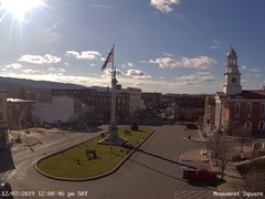 view from 13 East Market Street - Lewistown PA (west) on 2019-12-07