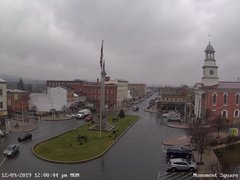 view from 13 East Market Street - Lewistown PA (west) on 2019-12-09