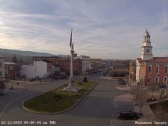 view from 13 East Market Street - Lewistown PA (west) on 2019-12-12