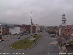 view from 13 East Market Street - Lewistown PA (west) on 2020-01-14