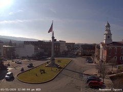 view from 13 East Market Street - Lewistown PA (west) on 2020-01-15