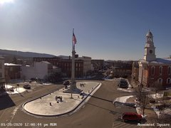 view from 13 East Market Street - Lewistown PA (west) on 2020-01-20
