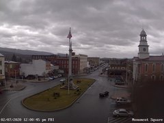 view from 13 East Market Street - Lewistown PA (west) on 2020-02-07