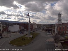 view from 13 East Market Street - Lewistown PA (west) on 2020-02-08