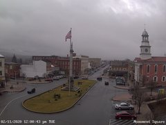 view from 13 East Market Street - Lewistown PA (west) on 2020-02-11
