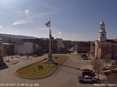 view from 13 East Market Street - Lewistown PA (west) on 2020-02-19