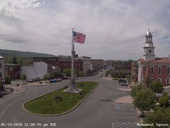view from 13 East Market Street - Lewistown PA (west) on 2020-05-19