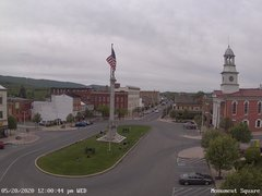 view from 13 East Market Street - Lewistown PA (west) on 2020-05-20