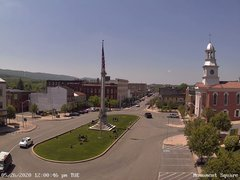 view from 13 East Market Street - Lewistown PA (west) on 2020-05-26