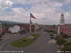 view from 13 East Market Street - Lewistown PA (west) on 2020-06-10