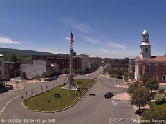 view from 13 East Market Street - Lewistown PA (west) on 2020-06-13