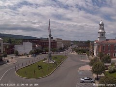 view from 13 East Market Street - Lewistown PA (west) on 2020-06-14