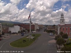view from 13 East Market Street - Lewistown PA (west) on 2020-06-18