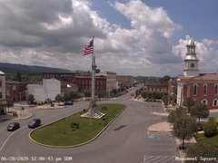 view from 13 East Market Street - Lewistown PA (west) on 2020-06-28