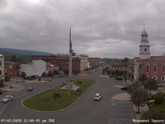 view from 13 East Market Street - Lewistown PA (west) on 2020-07-07