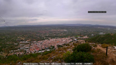 view from Enguera ADENE on 2020-09-18