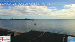 view from Porto d'Agumu on 2019-11-07
