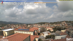 view from Sant'Andrea Frius on 2020-03-30