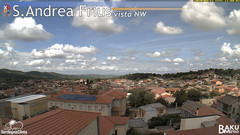 view from Sant'Andrea Frius on 2020-04-27