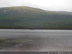 view from Lesjaskogsvatnet on 2020-08-03