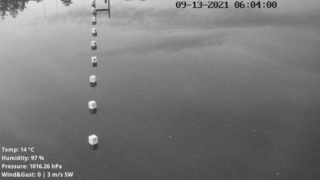 time-lapse frame, Labe Arena Racice webcam